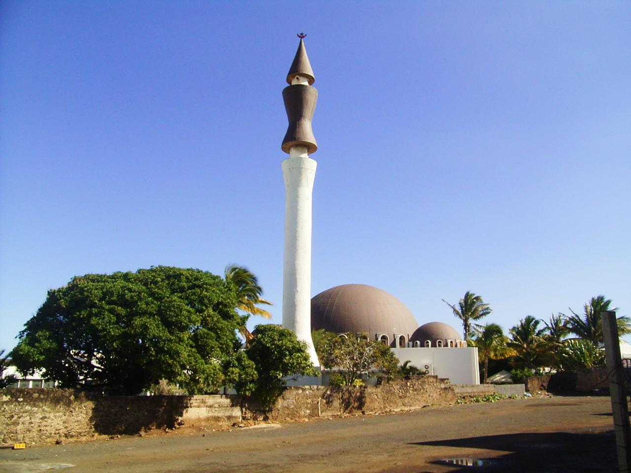 Ile Réunion, photo Mosquée de Saint Pierre