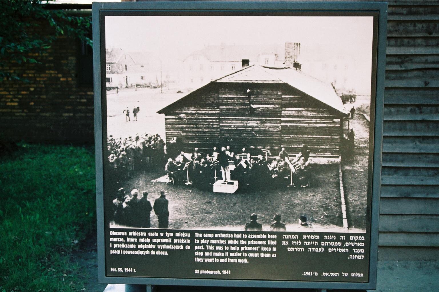 Auschwitz 2 photo orchestre