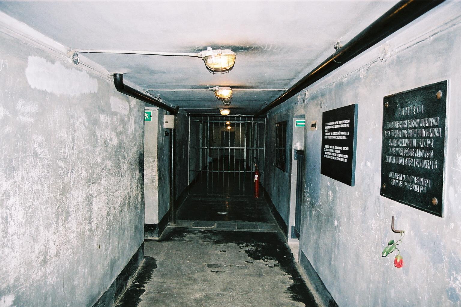 Auschwitz 1, sous sol prison