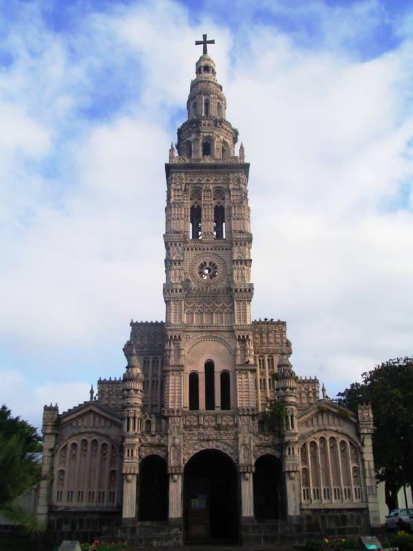 Ile de La Réunion, église Sainte Anne