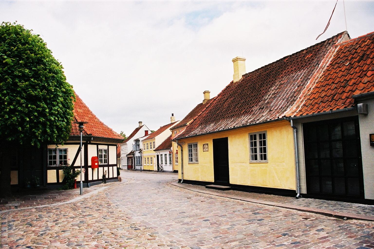 Danemark, Odense Maison d'Andersen