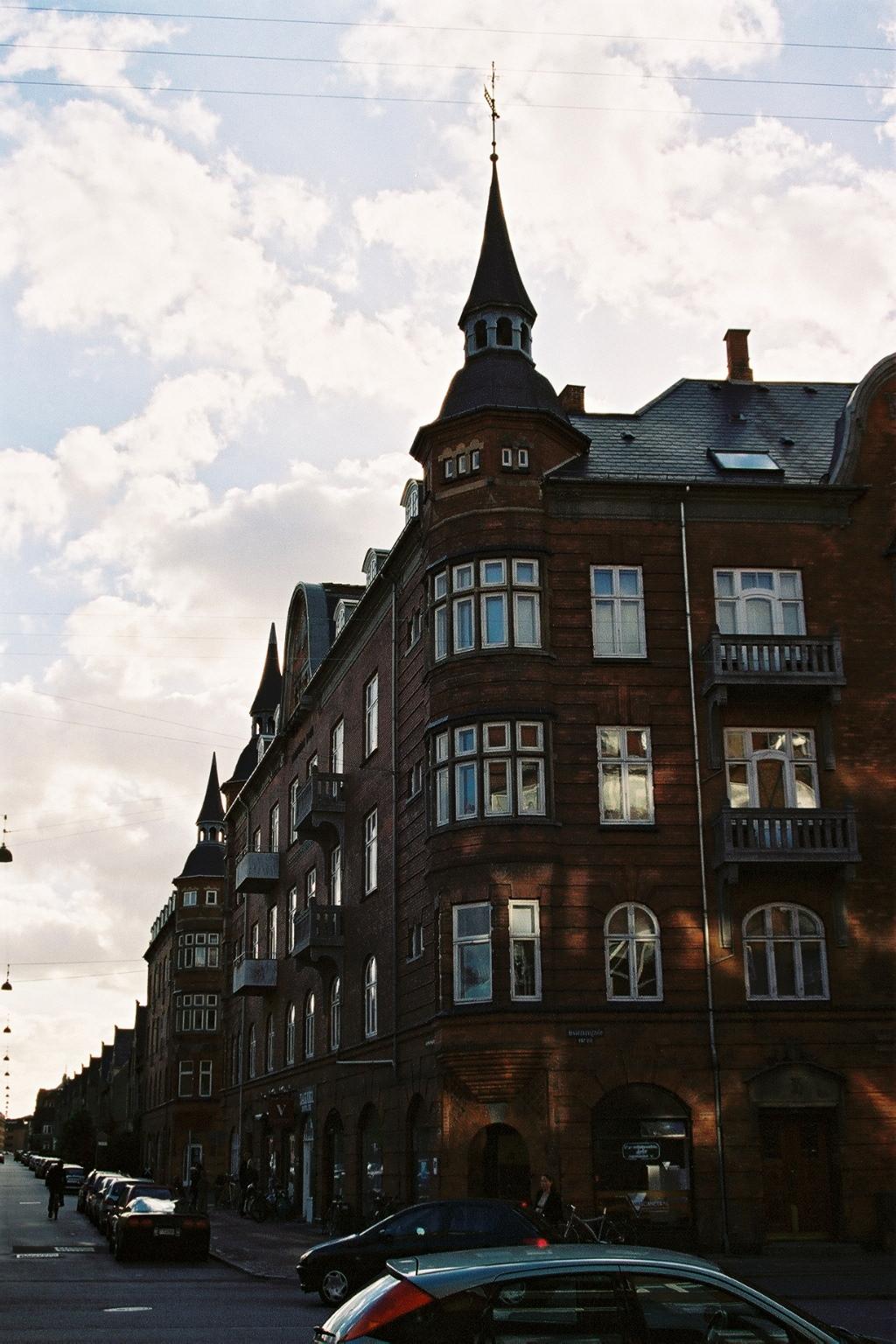 Danemark, Rue typique de Copenhague