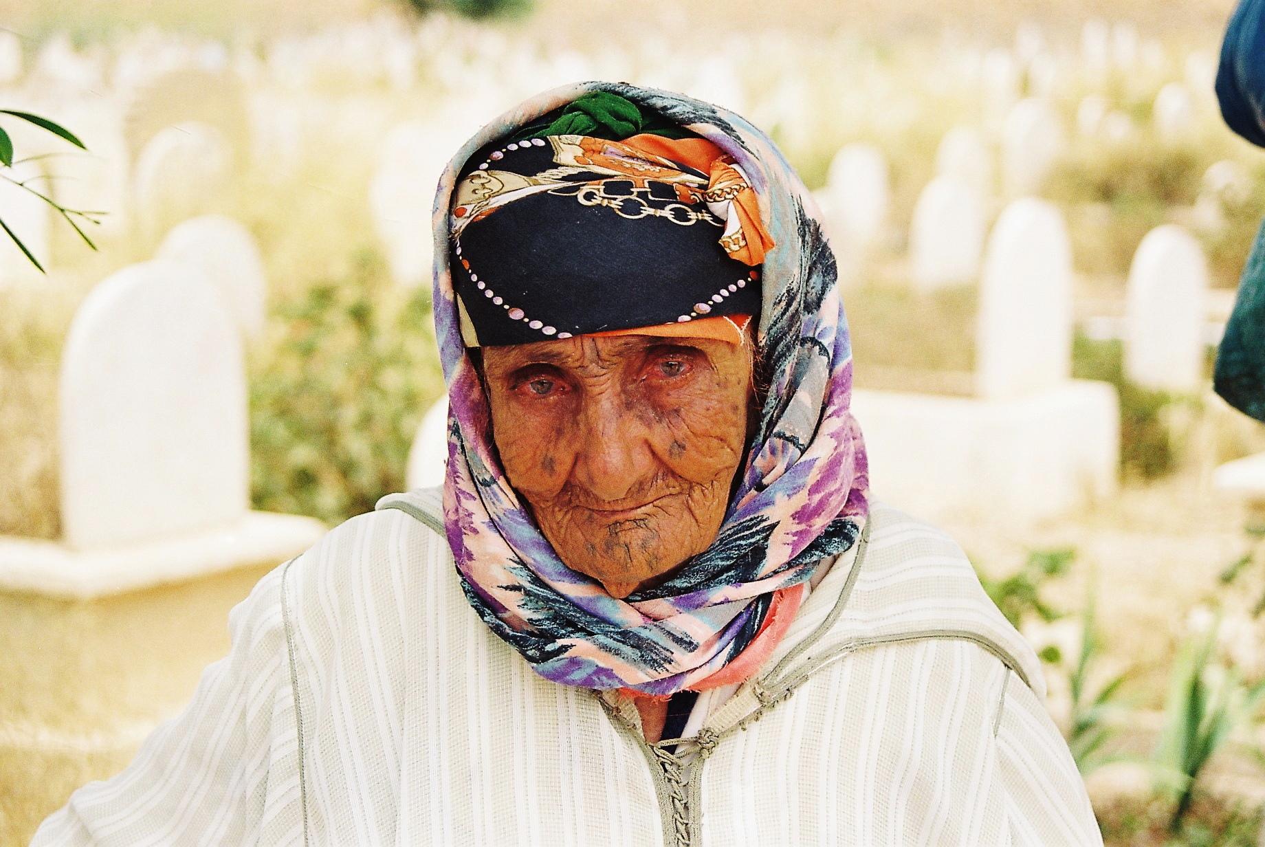 Maroc, portrait de femme