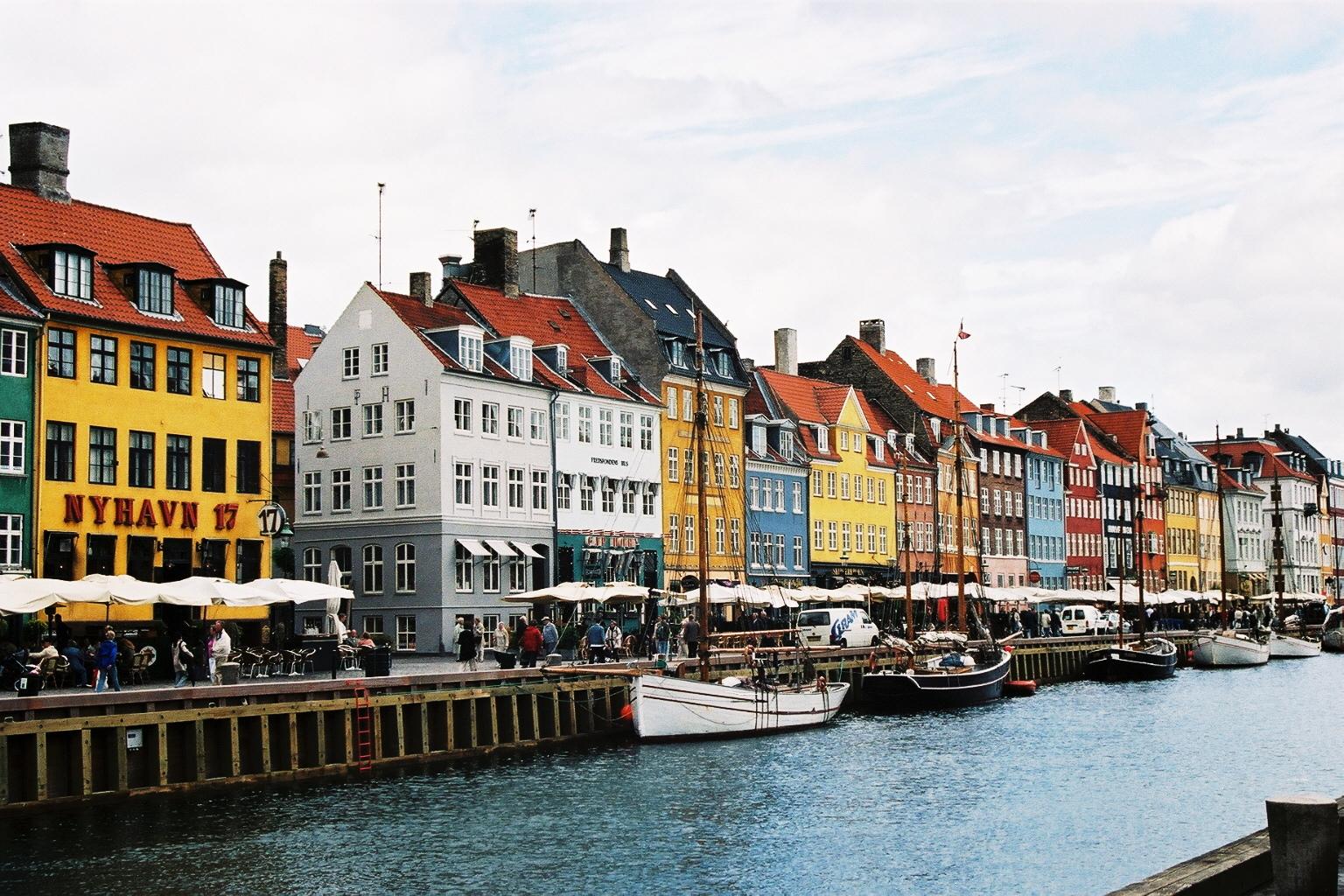 Danemark, Quartier Nyhavn, canal vieux port