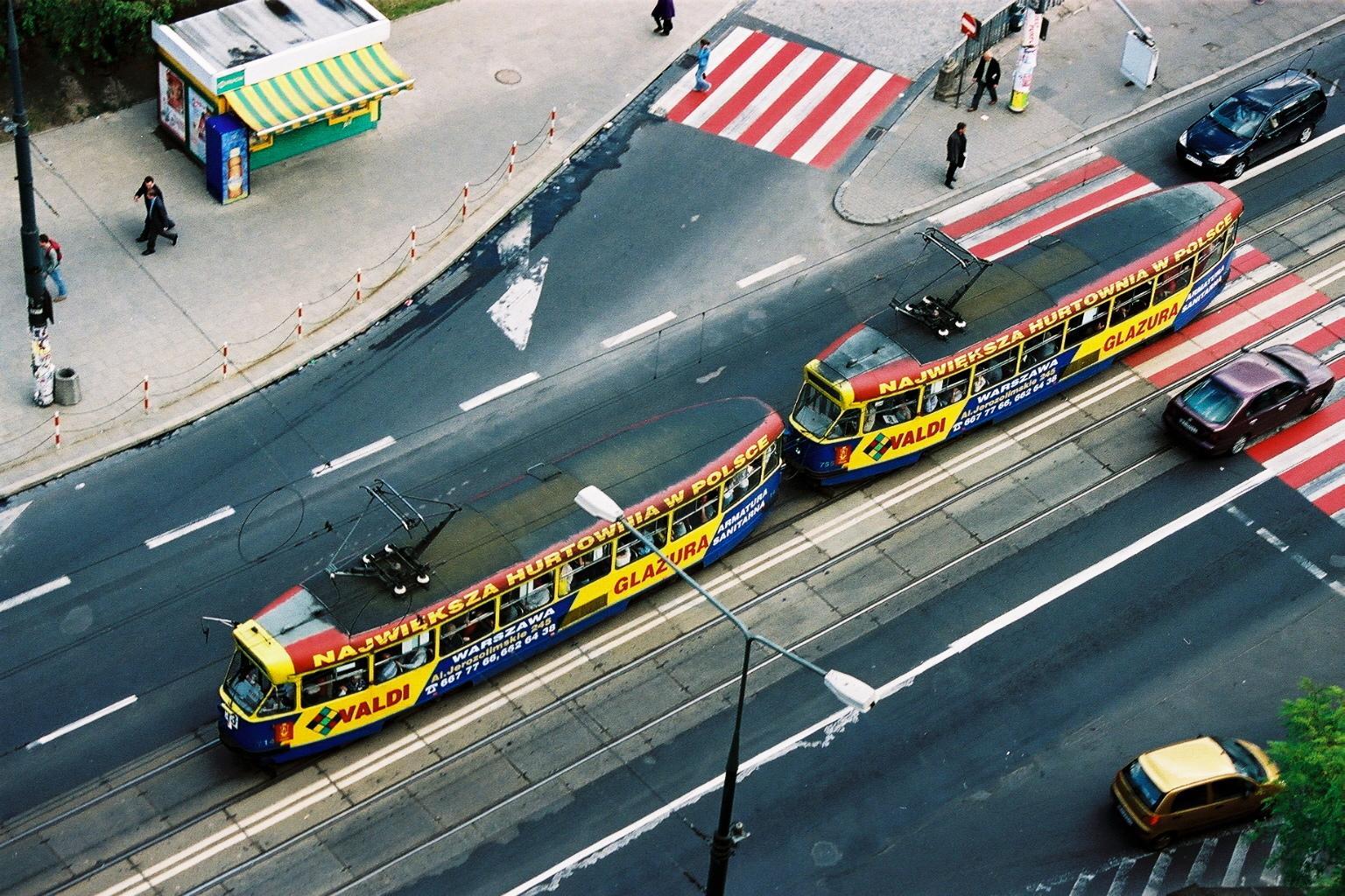 Tramway Varsovie