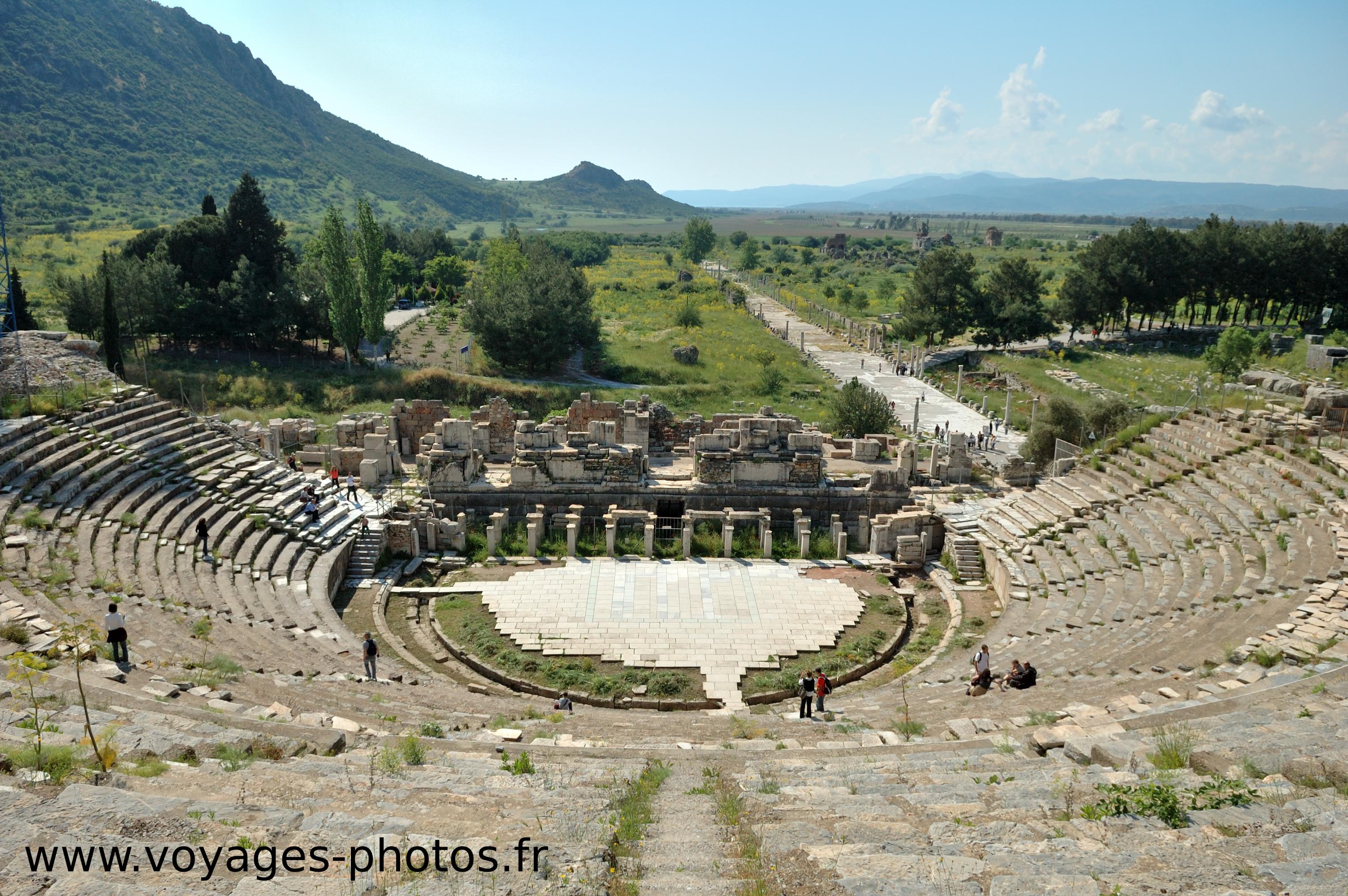 Turquie, théâtre d'Ephése