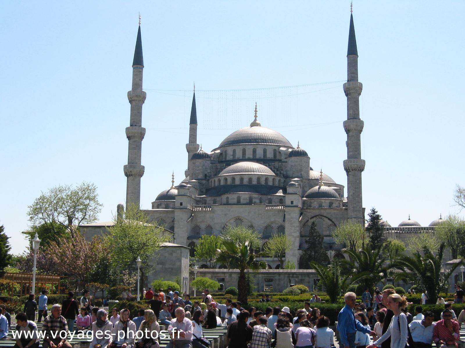 Turquie, photo Mosquée Bleue Sultanahmet Camii